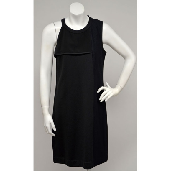 DKNY Dresses & Skirts - NWT DKNY Black  Textured Panel Knit Dress S